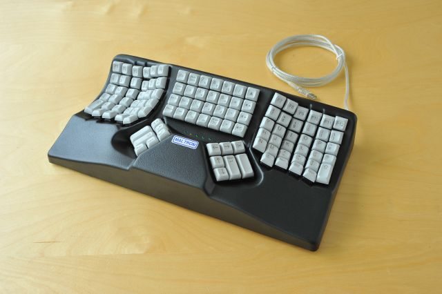 maltron l90 dual hand fully ergonomic 3d keyboard us english. Black Bedroom Furniture Sets. Home Design Ideas